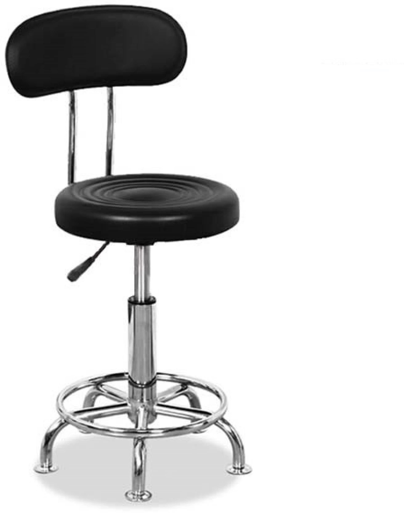 Mobile Chair Lakdi Medical Mobile Doctor S Stools Office Student Computer Pu Leather Metal Bar Chair By Lakdi The Furniture Company Leather Bar Chair