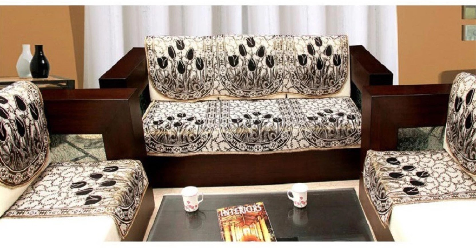 online sofa covers india how to repair a leather zesture jacquard cover price in buy