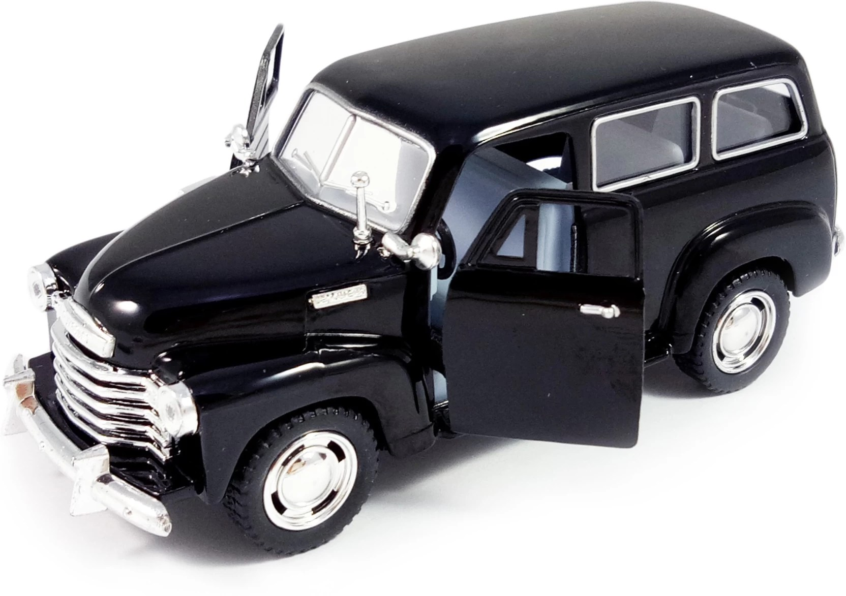 kinsmart 5 1 36 scale pull back action 1950 chevrolet suburban carryall car toys for kids from smiles creation black  [ 1664 x 1173 Pixel ]