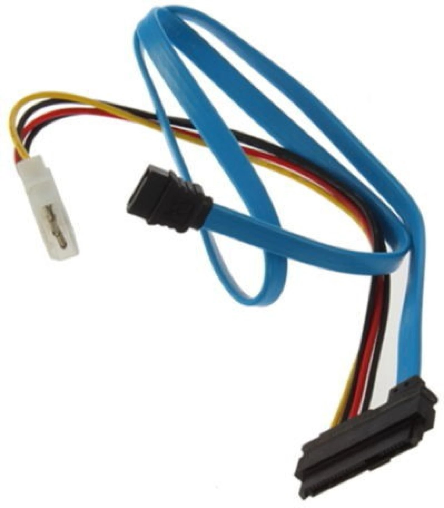 buyyart tv out cable new 1pcs high quality 7 pin sata serial ata to sas 29 pin 4 pin cable male connector adapter blue black for computer  [ 1456 x 1664 Pixel ]