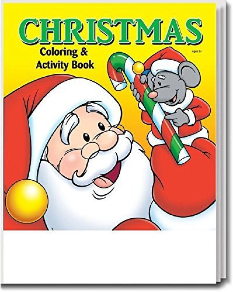 safety magnets christmas - kid's coloring & activity book in bulk
