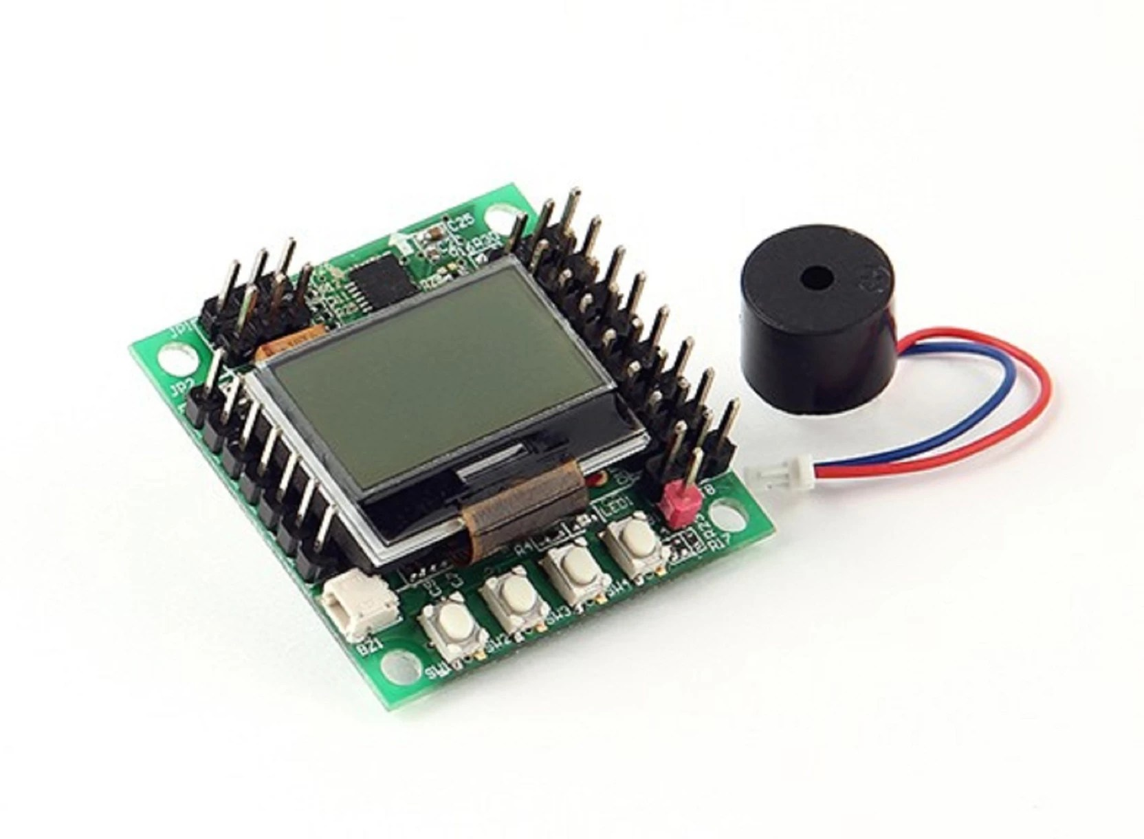 hight resolution of sunrobotics kk mini multi rotor lcd flight control board green