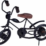 Buzykart Wooden Iron Motor Cycle Antique Home Decor Small