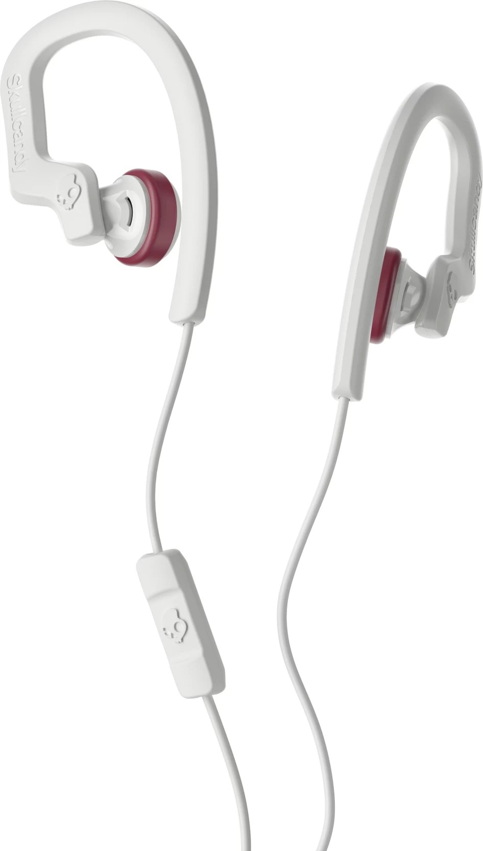 skullcandy chops flex headset with mic white in the ear  [ 946 x 1664 Pixel ]