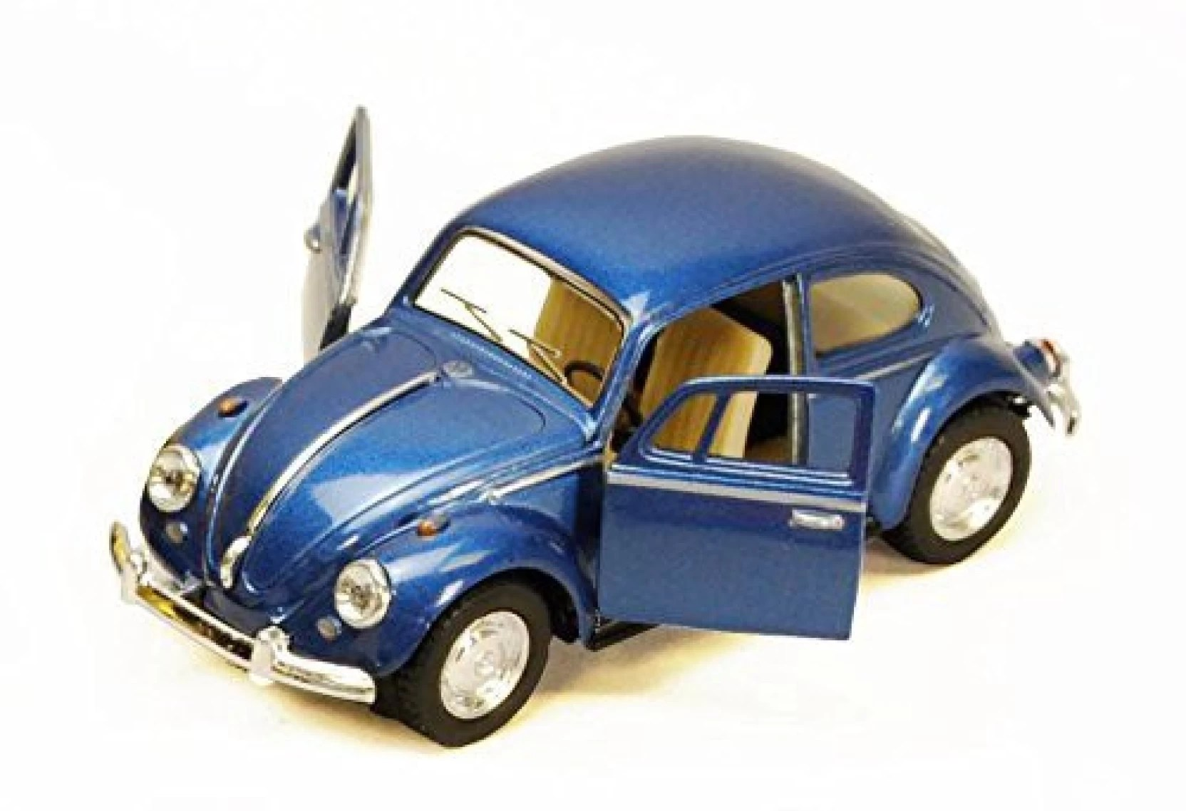 kinsmart 1967 volkswagen classic beetle blue 5057d 1 32 scale diecast model toy car brand new but no box multicolor  [ 1664 x 1138 Pixel ]