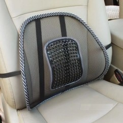 Massage Chair Pad For Car Brown Banquet Covers Kawachi Brg Seat Back Lumbar Support