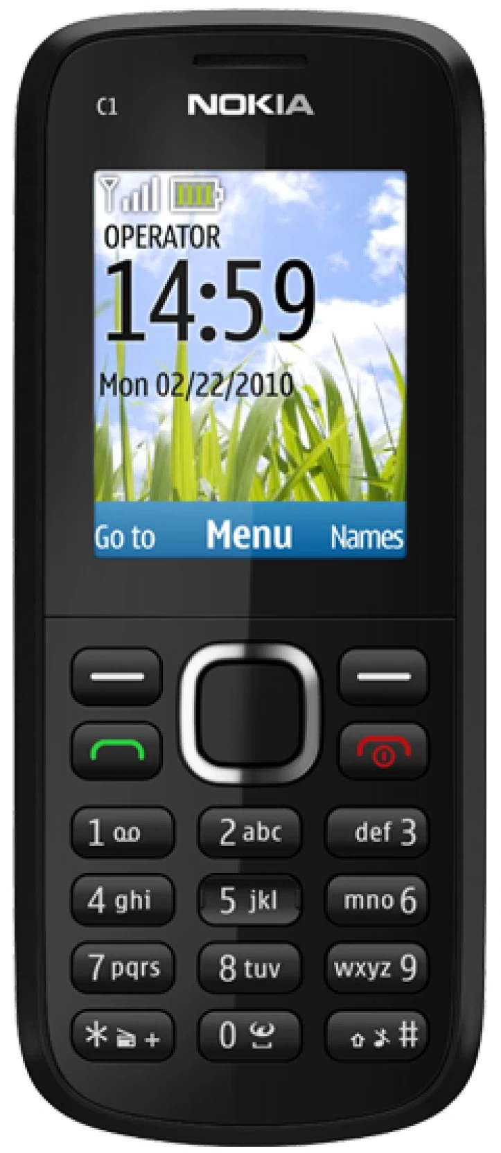 hight resolution of nokia c1 02 home
