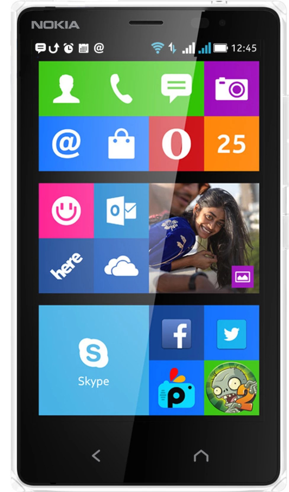 Nokia X2 Dual Sim White 4 Gb Online At Best Price With