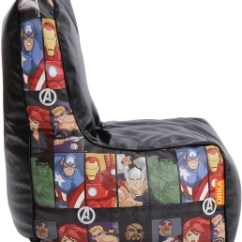 Avengers Bean Bag Chair Fitted Dining Covers Australia Orka Xl Character Digital Printed With Fillingmulticolor