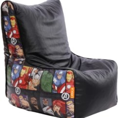 Avengers Bean Bag Chair Global Office Replacement Parts Orka Xl Character Digital Printed With Xxxl Cover Multicolor