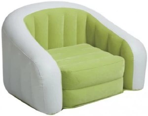 intex sofa chair cindy crawford sectional sleeper jilani junior cafe fro kids up to 7yrs inflatable