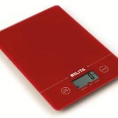 Kitchen Weight Scale Vintage Appliances Belita Bps 1131 Digital Weighing Red Best Price In
