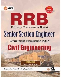 RRB Civil Engg. (SENIOR SECTION ENGINEER) 2016