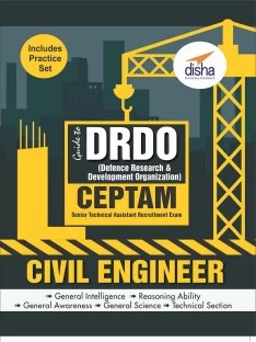 Guide to DRDO CEPTAM Civil Engineering Exam with Practice Set 1 Edition