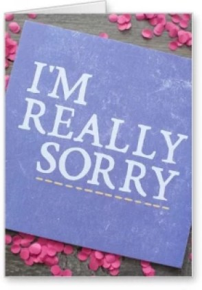 Image result for Thank you very Much & I am REally sorry!