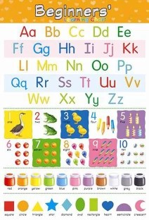 Kid   learning charts english alphabets counting color name shape also apple tree numbers preschool inch wall chart rh flipkart