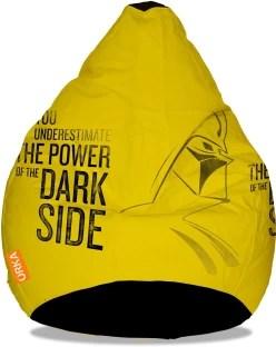 air bag chair lay z boy office global gifts medium inflatable bean with orka xxxl starwars dark side digital printed filling