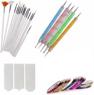 2508 Nail Art Bo Pen Set Of 5 15pc Brush