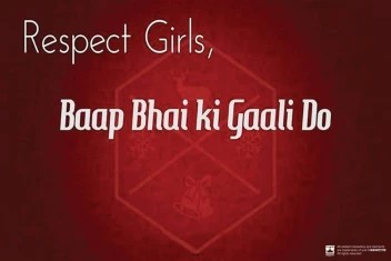 And Respect Girls Special Wall Poster 13 19 Inches Matte Finish Paper Print Quotes Motivation Posters In India Buy Art Film Design Movie Music Nature And Educational Paintings Wallpapers At Flipkart Com
