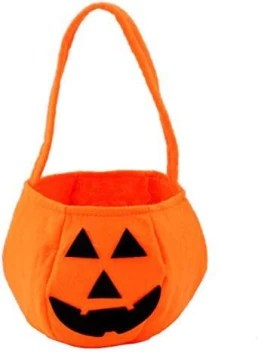 Genrc Halloween Pumpkin Bag Kids Candy Bucket Bag Trick Treat Bags For Kids Halloween Costume Party Halloween Pumpkin Bag Kids Candy Bucket Bag Trick Treat Bags For Kids Halloween Costume Party