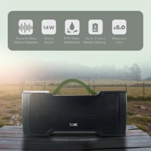 boAt Stone 1000 14 W Portable Bluetooth Speaker