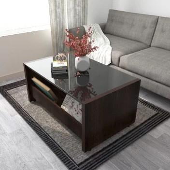 studio kook jazz compact glass coffee table
