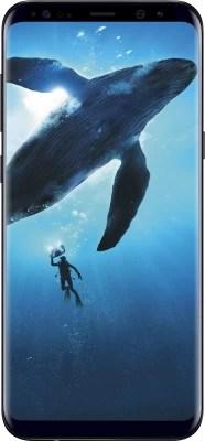 Samsung Galaxy S8 Plus (Midnight Black, 64 GB)(4 GB RAM)