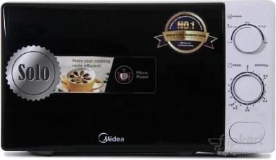 Carrier Midea 20 L Solo Microwave Oven(MM720CXM-PM, Black, White)