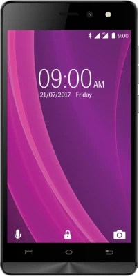 Lava A97 2GB Plus 4G with VoLTE (Black & Grey, 16 GB)(2 GB RAM)