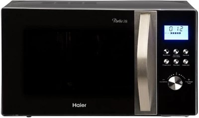 Haier 28 L Convection Microwave Oven(HIL2810EGCF, Black)