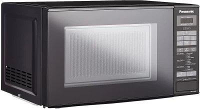 Panasonic 20 L Solo Microwave Oven((NN-ST266BFDG, BLACK)
