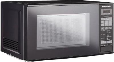 Panasonic 20 L Solo Microwave Oven((NN-ST266BFDG, BLACK)