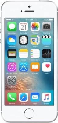 Apple iPhone SE (Silver, 128 GB)
