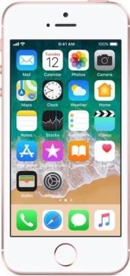 Apple iPhone SE (Rose Gold, 128 GB)