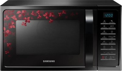 Samsung 28 L Convection Microwave Oven(MC28H5015VB, Black)