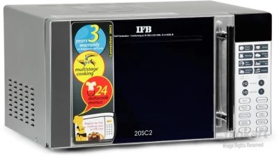 IFB 20 L Convection Microwave Oven(20SC2, Silver)