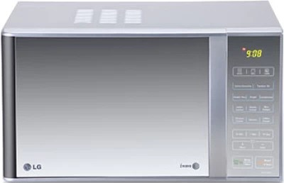 LG 23 L Grill Microwave Oven(MH2342BPS, Silver)