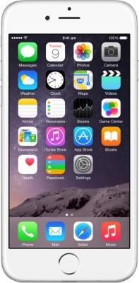 Apple iPhone 6 (Silver, 64 GB)