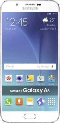 Samsung Galaxy A8 (White, 32 GB)(2 GB RAM)