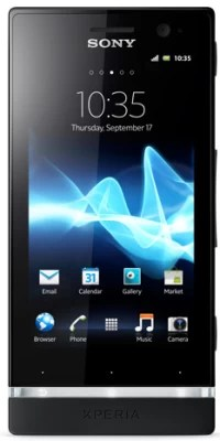 Sony Xperia U (Black and Pure White, 8 GB)(512 MB RAM)