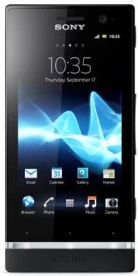 Sony Xperia U (Black and Pure White, 8 GB)(512 MB RAM)