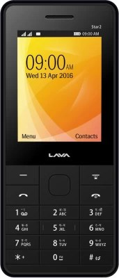 Lava KKT Star 2(Black, Blue)