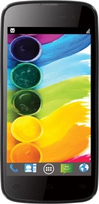 Lava Iris 450 Colour (Black and Blue, 4 GB)(512 MB RAM)