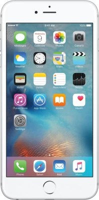 Apple iPhone 6s Plus (Silver, 128 GB)