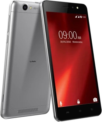Lava X28 (Black Grey, 8 GB)(1 GB RAM)
