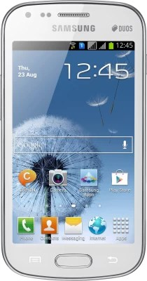 Samsung Galaxy S Duos (White, 4 GB)(768 MB RAM)