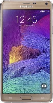 Samsung Galaxy Note 4 (Bronze Gold, 32 GB)(3 GB RAM)