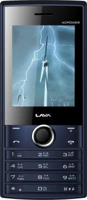 Lava KKT 40 Power(Black+Blue)