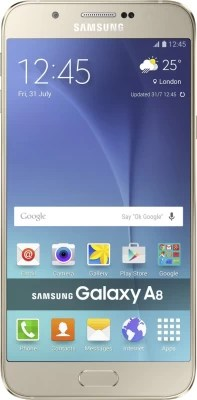 Samsung Galaxy A8 (Gold, 32 GB)(2 GB RAM)