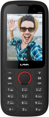 Lava ARC Selfie(Black and Red)